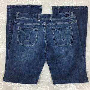 Vigoss Studio V Fit & Flare Jeans Sz 29 (7/8)